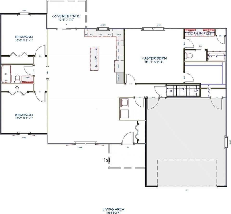 Custom Floor Plans   Great Basin Floor Plan Lawver Construction New Custom Home